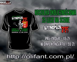 Lumpex 75 - koszulka